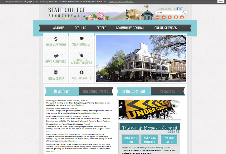 state college website