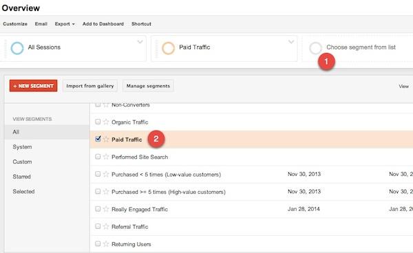 adwords traffic report