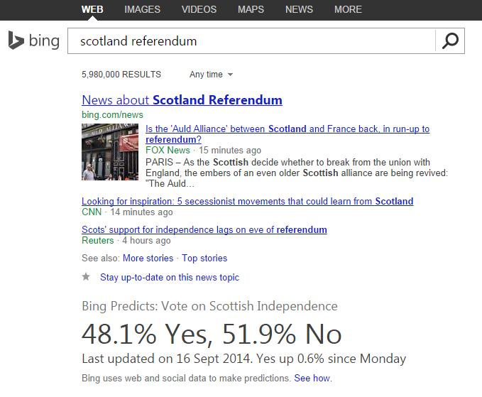 bing scotland vote